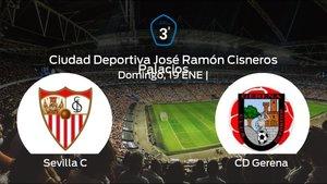 Previa del partido: Sevilla C - Gerena