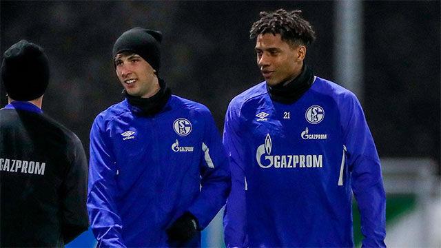 Primer entrenamiento de Todibo con el Schalke 04