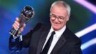Ranieri, galardonado en la última gala del The Best