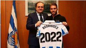 Rodrigues ha renovado por la Real Sociedad