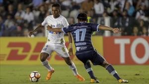 Rodrygo es la gran estrella del Santos