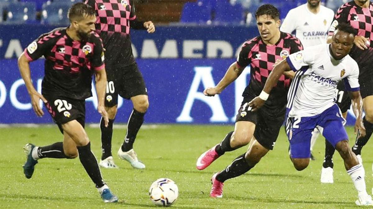 El Sabadell suma un punto ante el Zaragoza