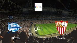 Sevilla cruise to a 0-1 victory vs. Alavés at Estadio de Mendizorroza