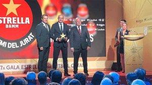 Subies recibió el Premio del Jurado durante la gala