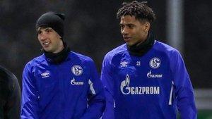 Todibo y Miranda comparten vestuario en el Schalke 04