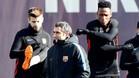 Valverde aún duda sobre el debut de Yerry Mina