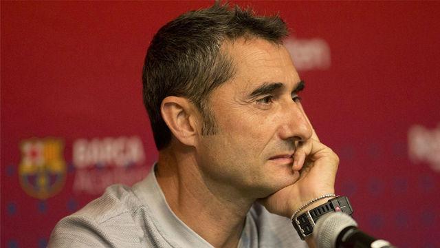 Valverde reconoce la necesidad de fichar un centrocampista