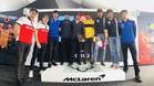 Varios pilotos celebraron con Alonso sus 300 GP