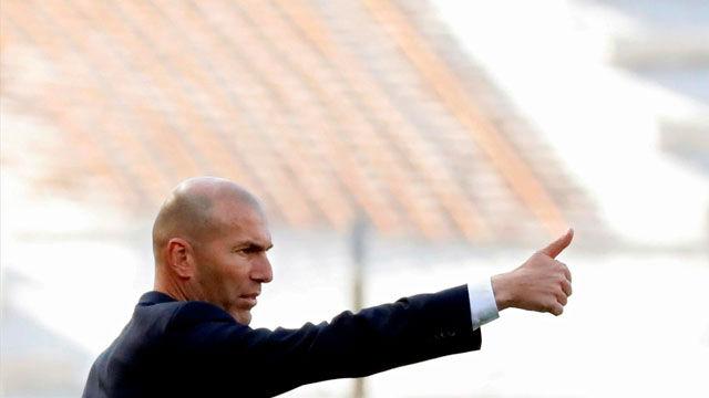 Zidane: Que se acabe la temporada
