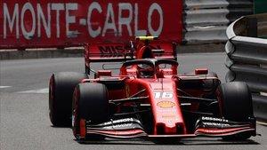 Leclerc se impuso a los Mercedes