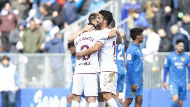 El Albacete sufre para vencer al Fuenlabrada