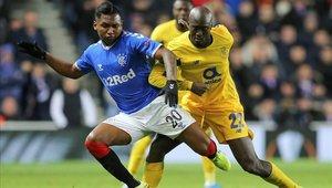 Alfredo Morelos tiene un gran presente en el fútbol escocés
