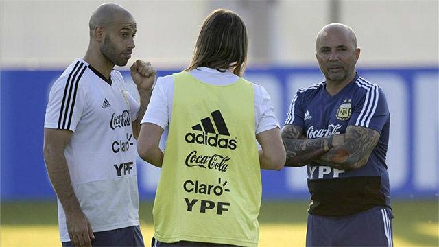 Argentina ya prepara el partido contra Croacia