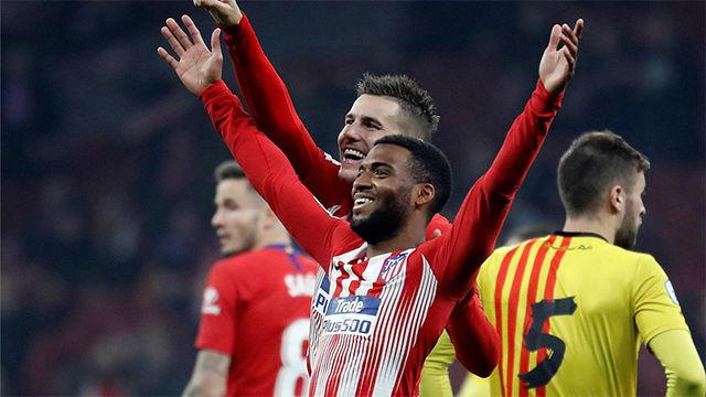 El Atlético se clasifica para octavos de Copa ante el Sant Andreu en la segunda parte
