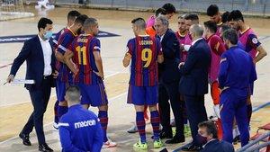 El Barça perdió el derbi ante Industrias Santa Coloma