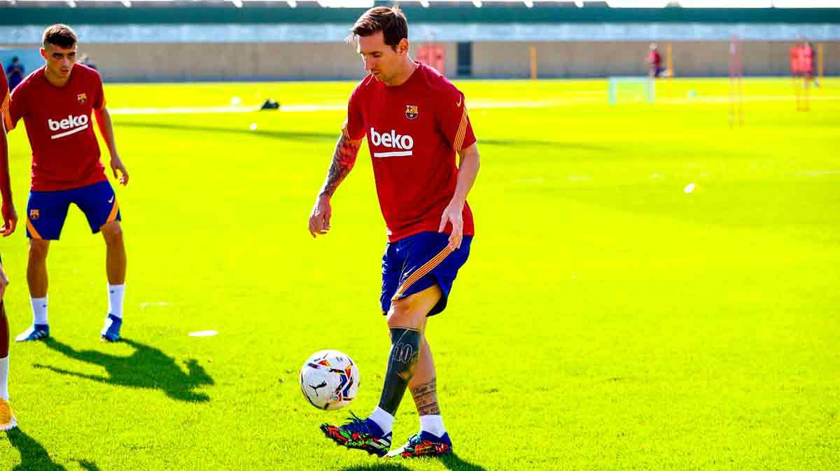 Barça prepara debut en la Liga ante Villarreal