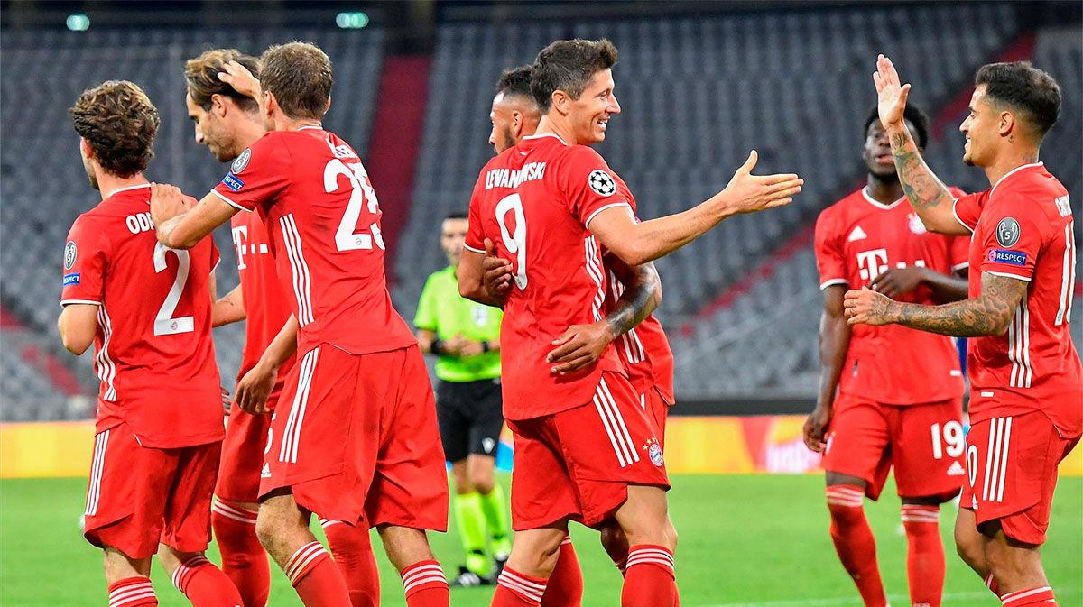El Bayern será el rival del Barça en cuartos tras golear al Chelsea