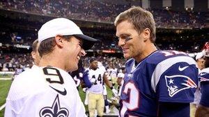 Brees y Brady, dos quarterbacks ganadores de la NFL