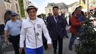 Chan, en 2016, cuando fue nombrado 'Ciudadano de Honor' de Le Mans