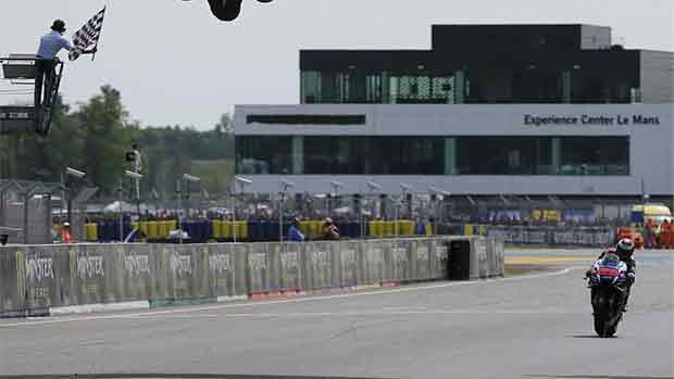 El circuito de Le Mans del GP de Francia de MotoGP (ES)