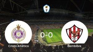 El Cristo Atlético y el Atl. Bembibre no encuentran el gol y se reparten los puntos (0-0)