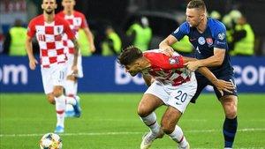 Croacia remontó el partido en una gran segunda parte
