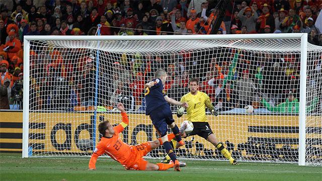 Se cumplen nueve años del gol de Iniesta que hizo a España campeona del Mundo