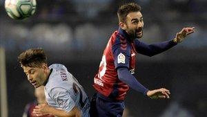 El delantero asturiano Adrián está viviendo una segunda juventud en Osasuna