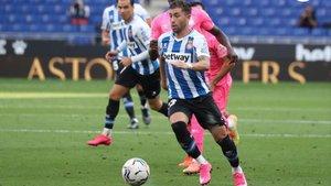 Embarba parece que se va a quedar en el Espanyol esta temporada.