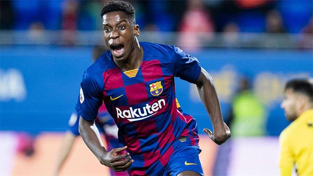 La escandalosa volea de Ilaix Moriba que dio la victoria al Barça B