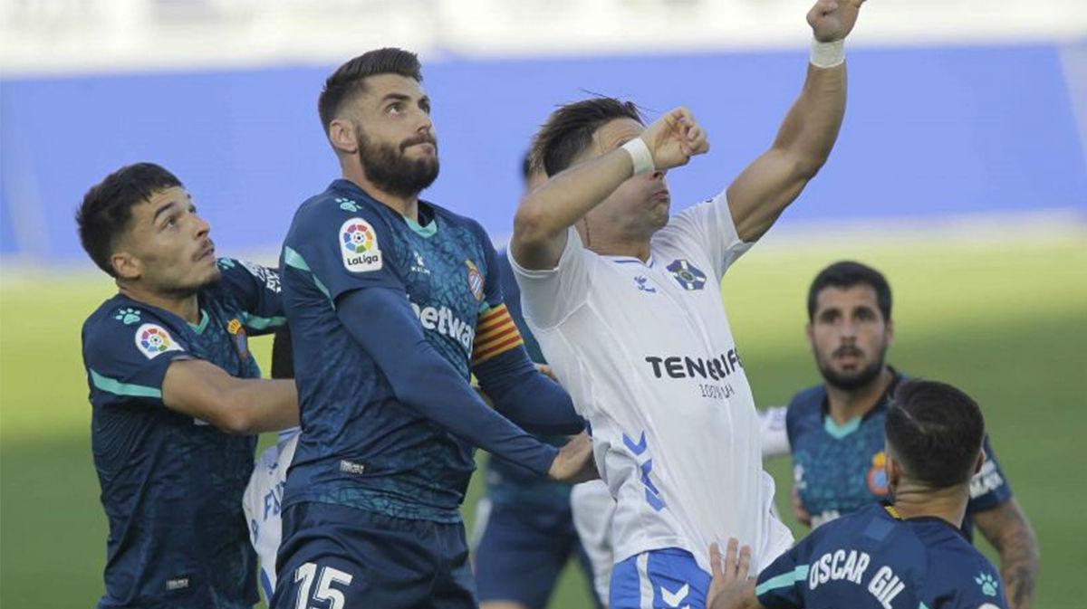 El Espanyol frena su racha en Tenerife