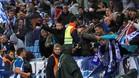 El Espanyol impidió la entrada de radicales del Barcelona