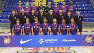 Foto oficial del FC Barcelona para la temporada 2019-20