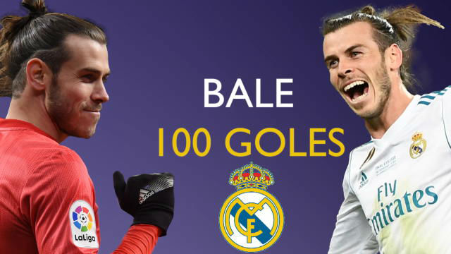 Gareth Bale, 100 goles como madridista