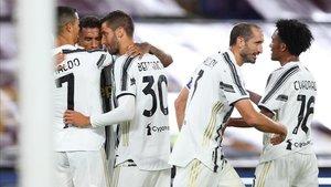 Imagen de archivo de los jugadores de la Juventus