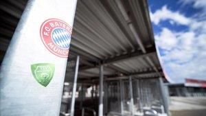 Imagen del Allianz Arena desierto