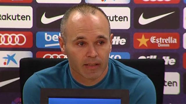Iniesta, muy emocionado: Esta es mi última temporada en el Barça