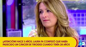Laura Fa revela que tuvo cáncer de tiroides a los 28 años