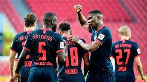 El RB Leipzig, un recien llegado a Europa en el camino del Atlético