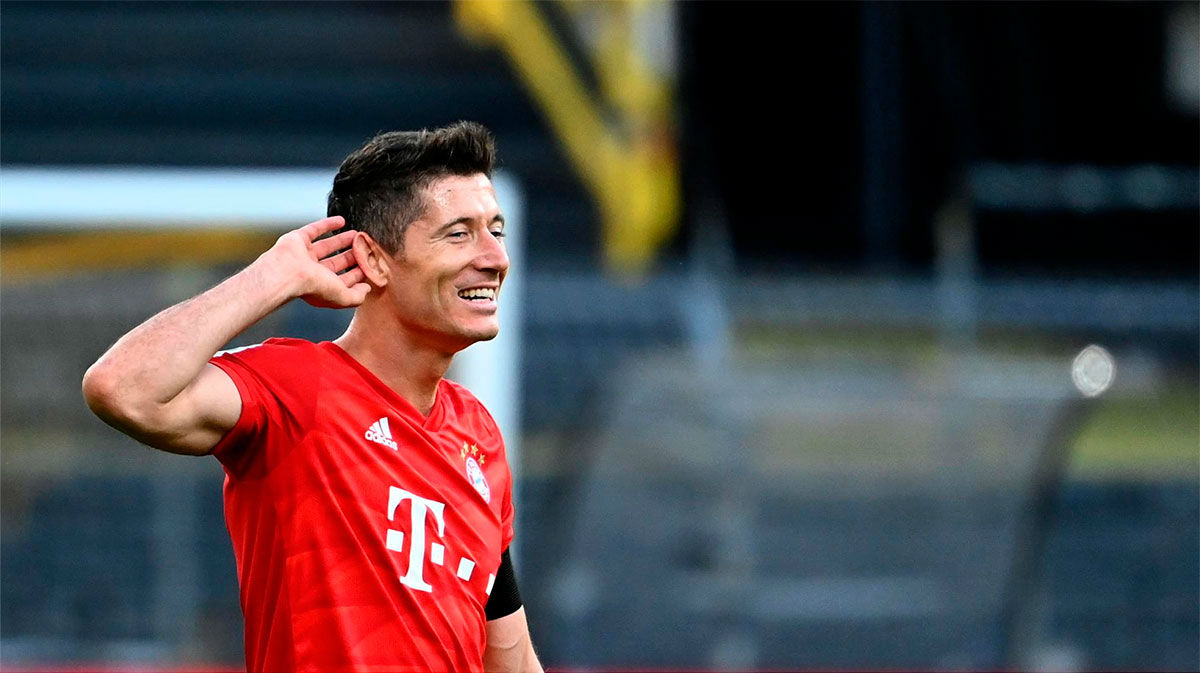 Lewandowski, el goleador vigente