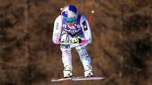 Lindsey Vonn ganó el descenso