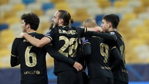 Los jóvenes del Barça respondieron a la perfección ante el Dinamo