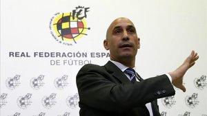 Luis Rubiales ha trasladado sus propuesas al CSD