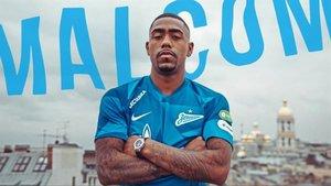 Malcom juega actualmente en el Zenit de San Petesburgo
