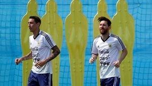Di Maria y Messi, la experiencia de la albiceleste