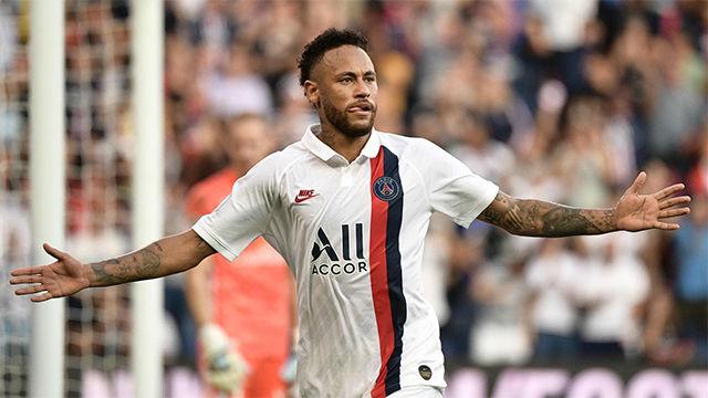 La mejor forma de callar bocas: golazo de Neymar de chilena acrobática en el 92 para dar la victoria del PSG
