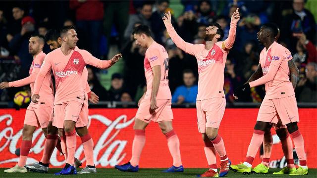 Messi empieza 2019 como terminó 2018: marcando
