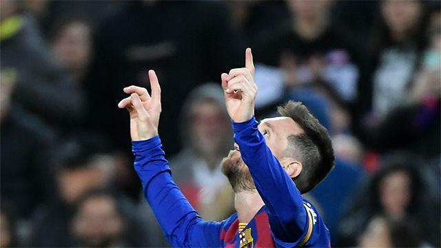 Messi, otra vez 50 goles