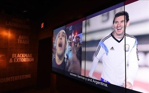 Messi es también un ídolo en Estados Unidos