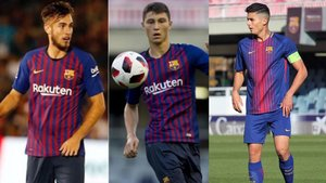Mingueza, Cuenca y Chumi son los centrales del Barça B que debe tener en cuenta Ernesto Valverde
